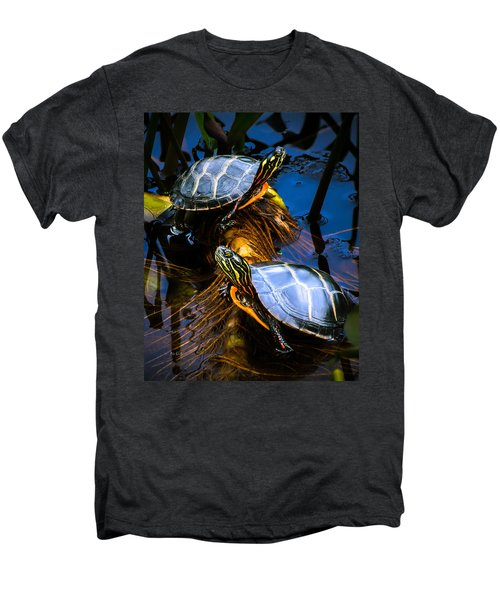 Passing The Day With A Friend Men's Premium T-Shirt