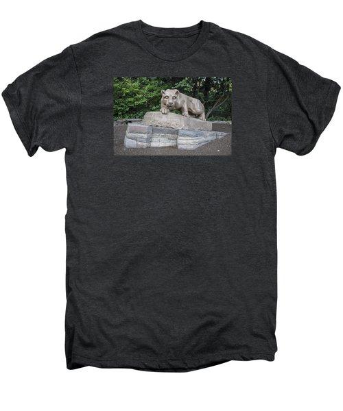Penn Statue Statue  Men's Premium T-Shirt by John McGraw