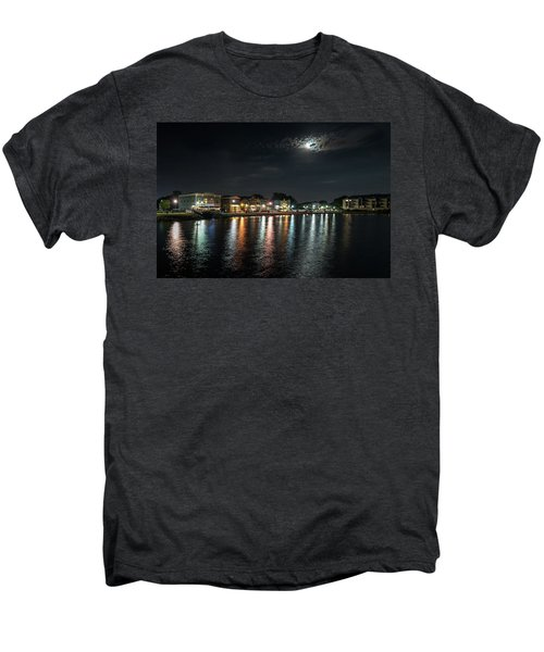 Pewaukee At Night Men's Premium T-Shirt