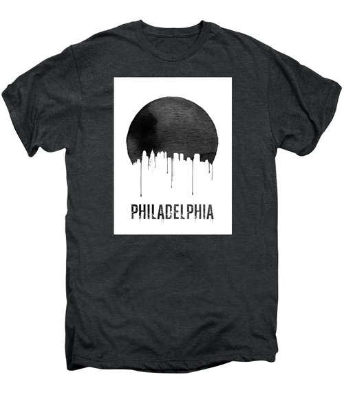 Philadelphia Skyline White Men's Premium T-Shirt