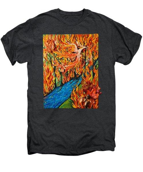 Phoenix Forest Fire Men's Premium T-Shirt