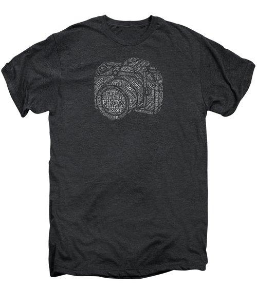 Photography Slang Word Cloud Men's Premium T-Shirt by Felikss Veilands