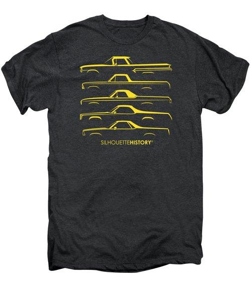 Pickupino Silhouettehistory Men's Premium T-Shirt