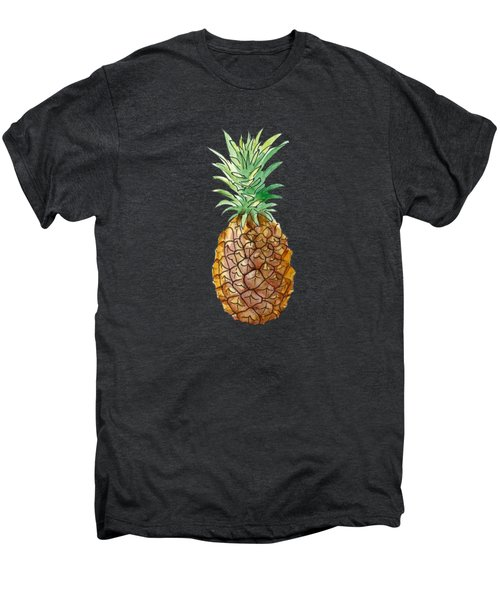 Pineapple On Black Men's Premium T-Shirt