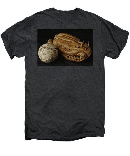 Play Ball Men's Premium T-Shirt by Richard Rizzo