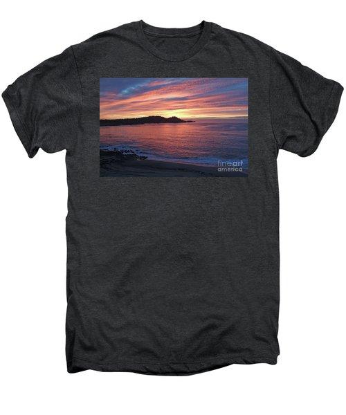 Point Lobos Red Sunset Men's Premium T-Shirt