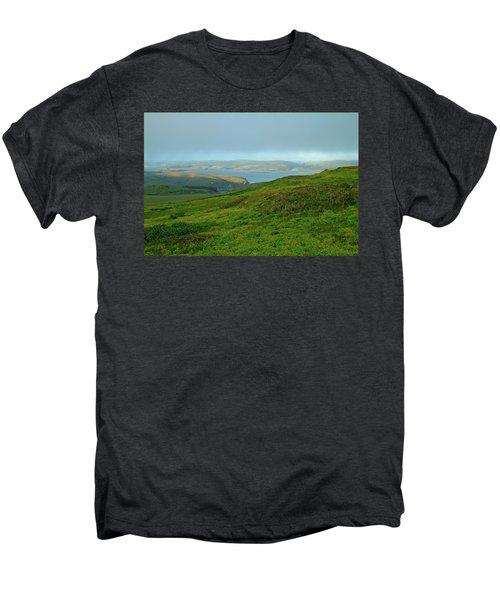 Point Reyes Overlooking Tomales Bay Men's Premium T-Shirt