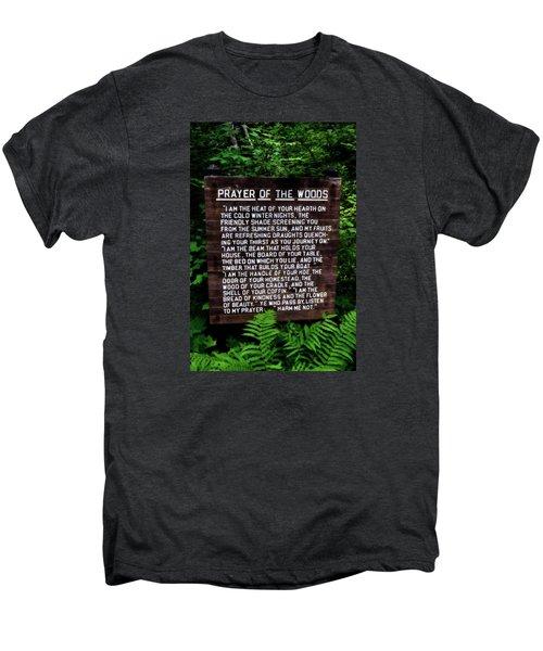 Prayer Of The Woods Men's Premium T-Shirt