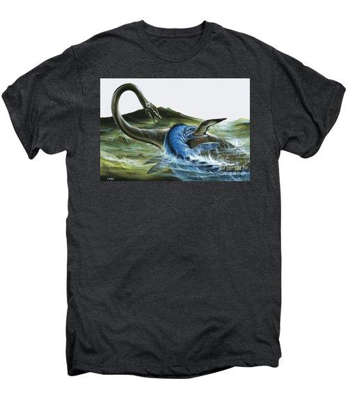 Prehistoric Creatures Men's Premium T-Shirt