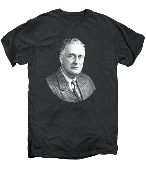 President Franklin Roosevelt Graphic Men's Premium T-Shirt