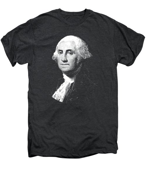 President George Washington Graphic  Men's Premium T-Shirt by War Is Hell Store