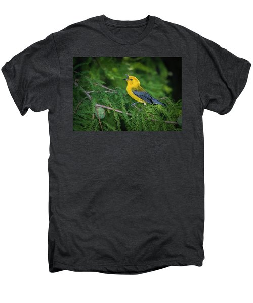 Prothonatory Warbler 9809 Men's Premium T-Shirt