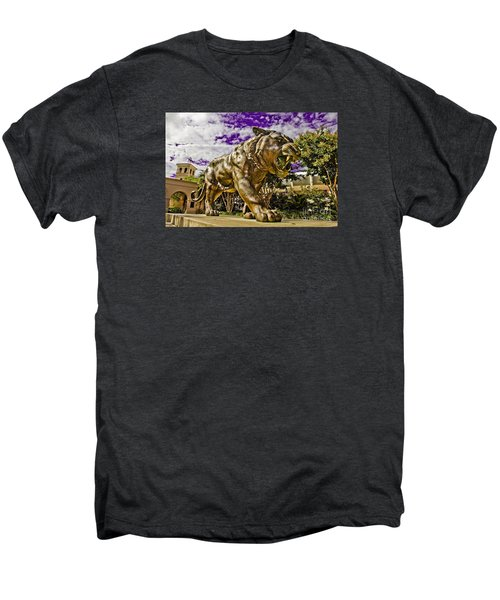 Purple And Gold Men's Premium T-Shirt