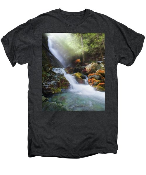 Men's Premium T-Shirt featuring the photograph Race Brook Falls 2017 by Bill Wakeley