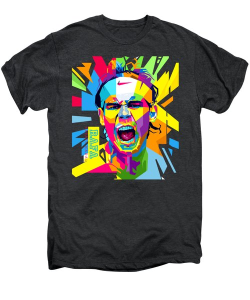 Rafael Nadal Men's Premium T-Shirt