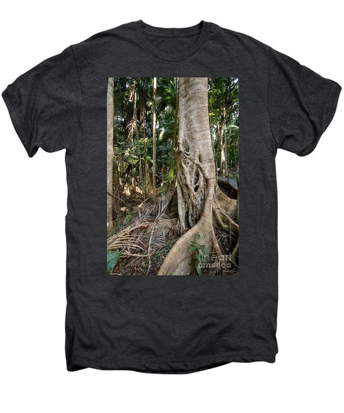 Rainforest Majesty Men's Premium T-Shirt