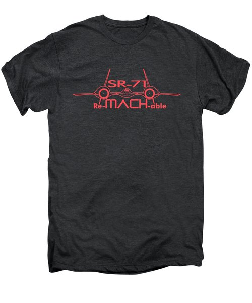 Re-mach-able Sr-71 Men's Premium T-Shirt by Ewan Tallentire