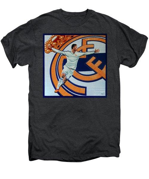 Real Madrid Painting Men's Premium T-Shirt by Paul Meijering
