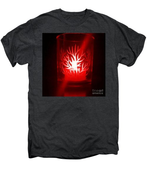 Red Candle Light Men's Premium T-Shirt
