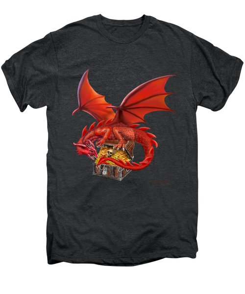 Red Dragon's Treasure Chest Men's Premium T-Shirt