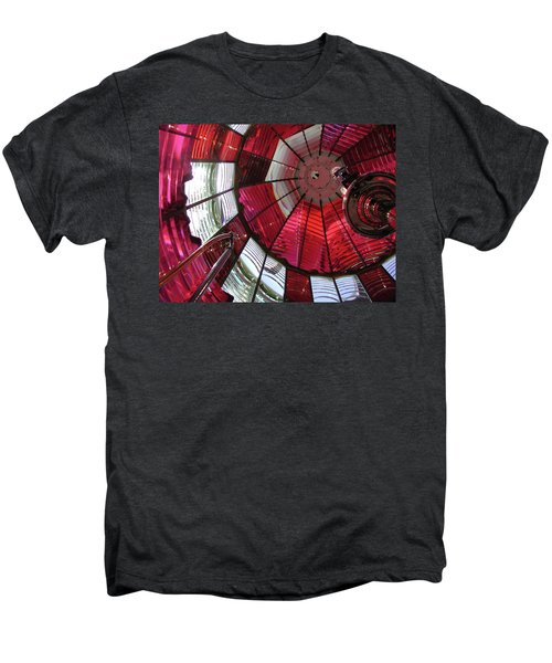 Red Reflections Men's Premium T-Shirt