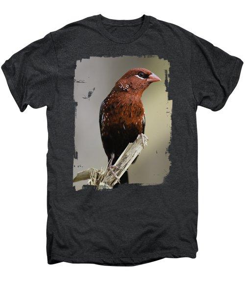Red - Rojo Men's Premium T-Shirt by Juan Carlos Ballesteros