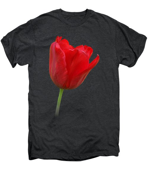 Red Tulip Open Men's Premium T-Shirt