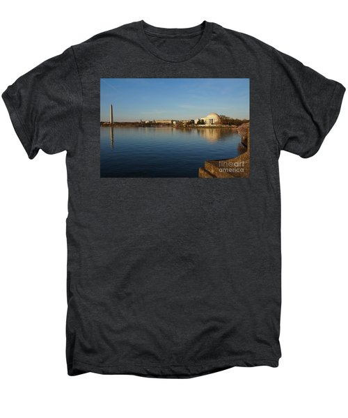 Reflections  Men's Premium T-Shirt by Megan Cohen