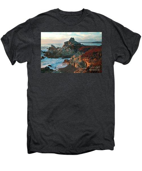 Ribera Beach Sunset Carmel California Men's Premium T-Shirt
