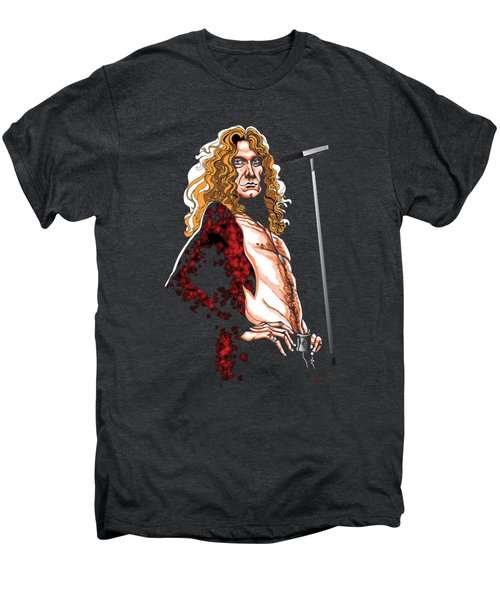 Robert Plant Of Led Zeppelin Men's Premium T-Shirt