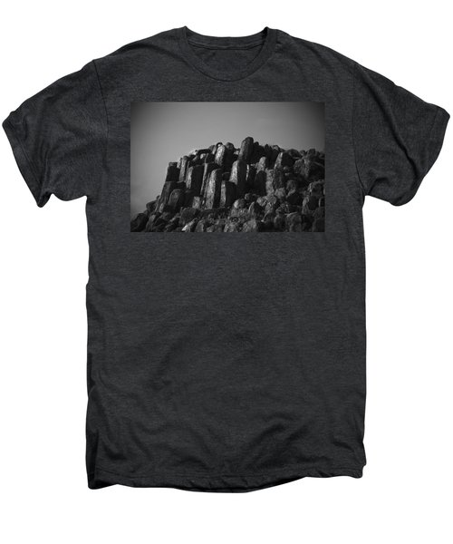 Monument To Glacier Men's Premium T-Shirt by Yulia Kazansky
