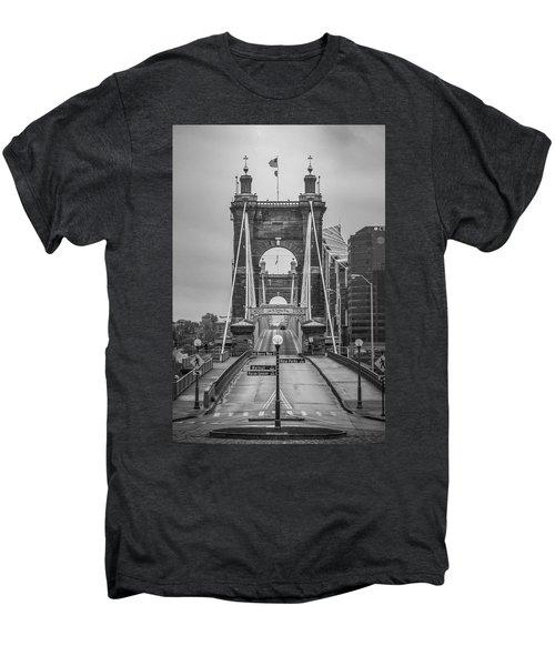 Roebling Bridge Men's Premium T-Shirt