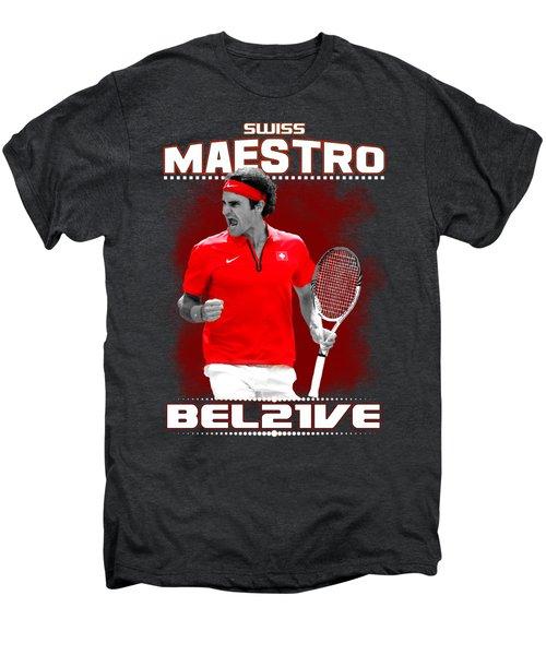 Roger Federer Maestro Men's Premium T-Shirt