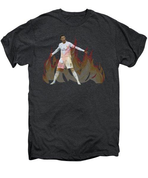 Ronaldo Men's Premium T-Shirt by Vincenzo Basile