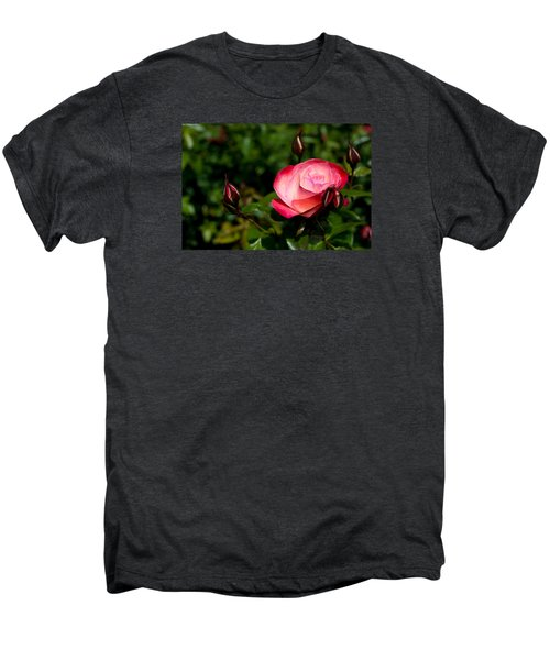Rose Men's Premium T-Shirt by Lora Lee Chapman