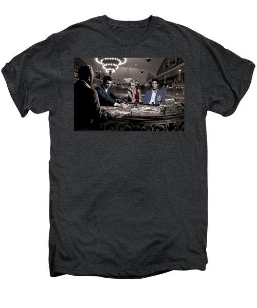 Royal Flush Men's Premium T-Shirt