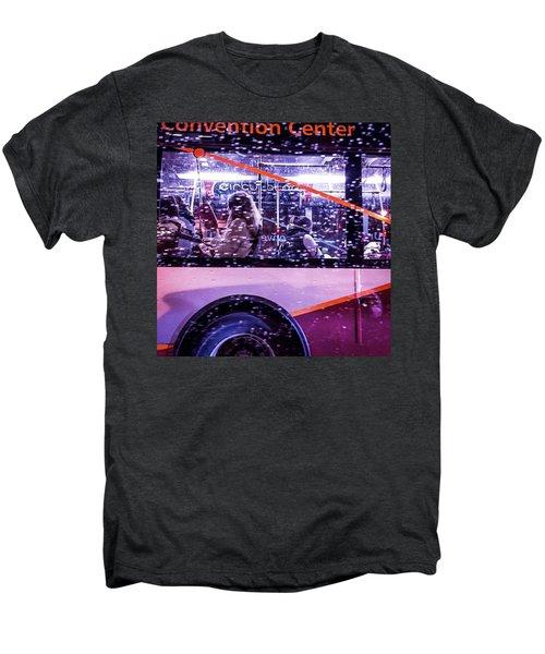 Rush Hour On A Rainy Monday Evening In Men's Premium T-Shirt