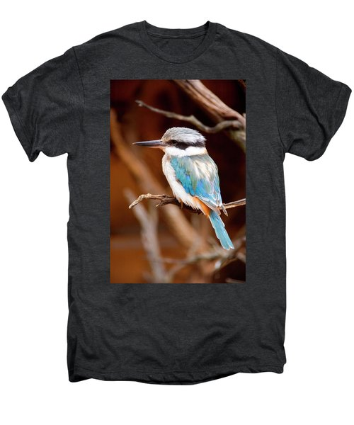 Sacred Kingfisher Men's Premium T-Shirt