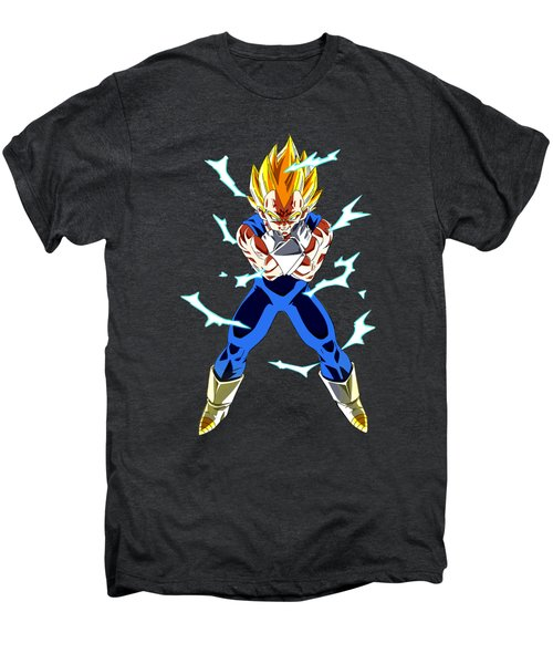 Saiyan Warriors Men's Premium T-Shirt by Opoble Opoble