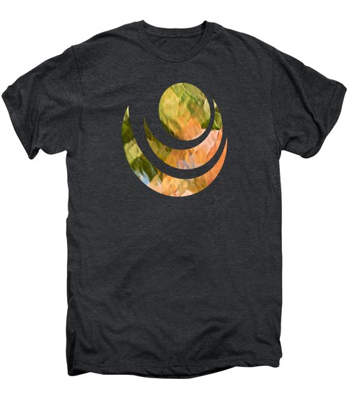 Salmon Mosaic Abstract Men's Premium T-Shirt
