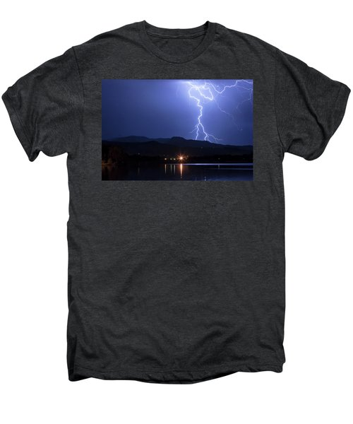 Men's Premium T-Shirt featuring the photograph Scribble In The Night by James BO Insogna