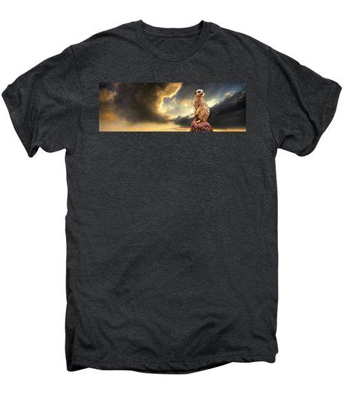 Sentry Duty Men's Premium T-Shirt by Meirion Matthias