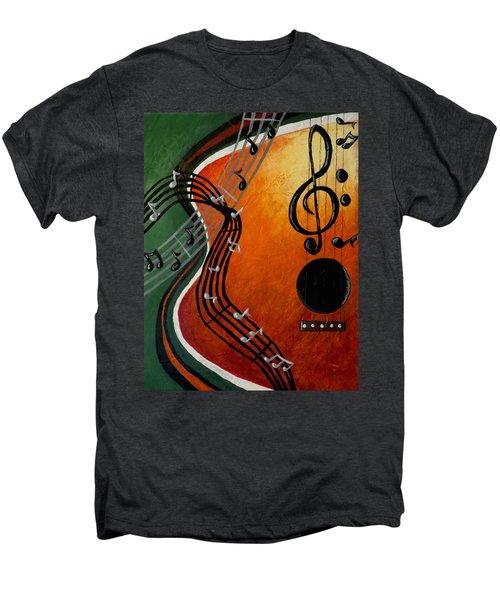 Serenade Men's Premium T-Shirt by Teresa Wing
