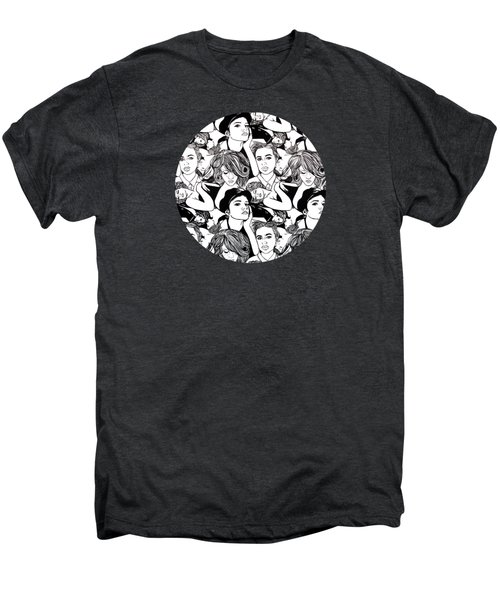 Seven Beauties Men's Premium T-Shirt by Malinda  Prudhomme