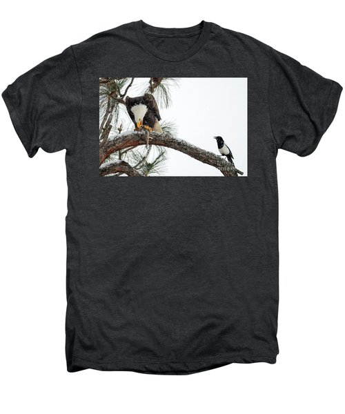 Share The Wealth Men's Premium T-Shirt by Mike Dawson