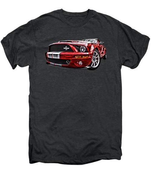 Shelby On Fire Men's Premium T-Shirt by Gill Billington