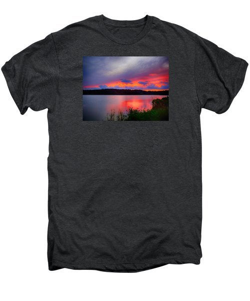 Shelf Cloud At Sunset Men's Premium T-Shirt