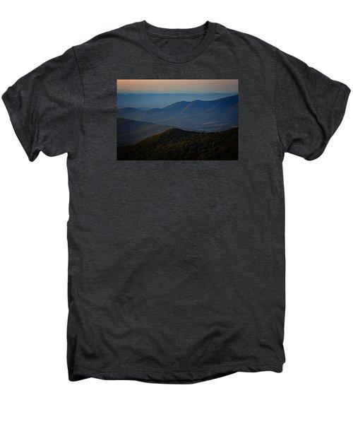 Shenandoah Valley At Sunset Men's Premium T-Shirt