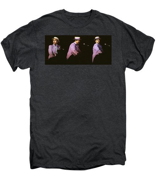 Sir Elton John 3 Men's Premium T-Shirt by Dragan Kudjerski