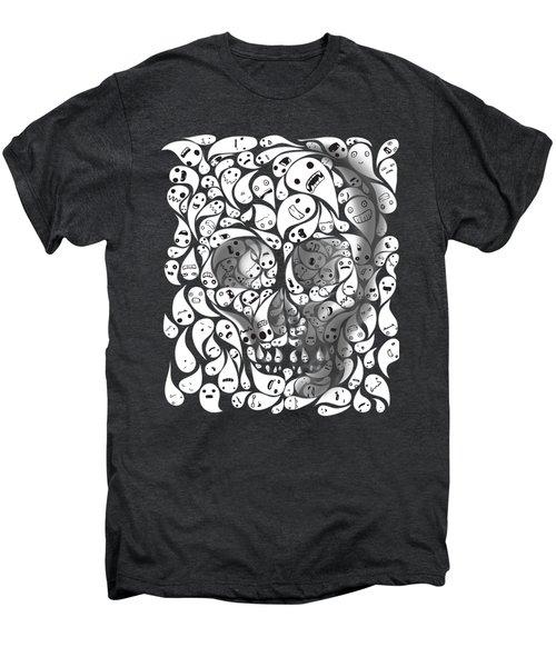 Skull Doodle Men's Premium T-Shirt